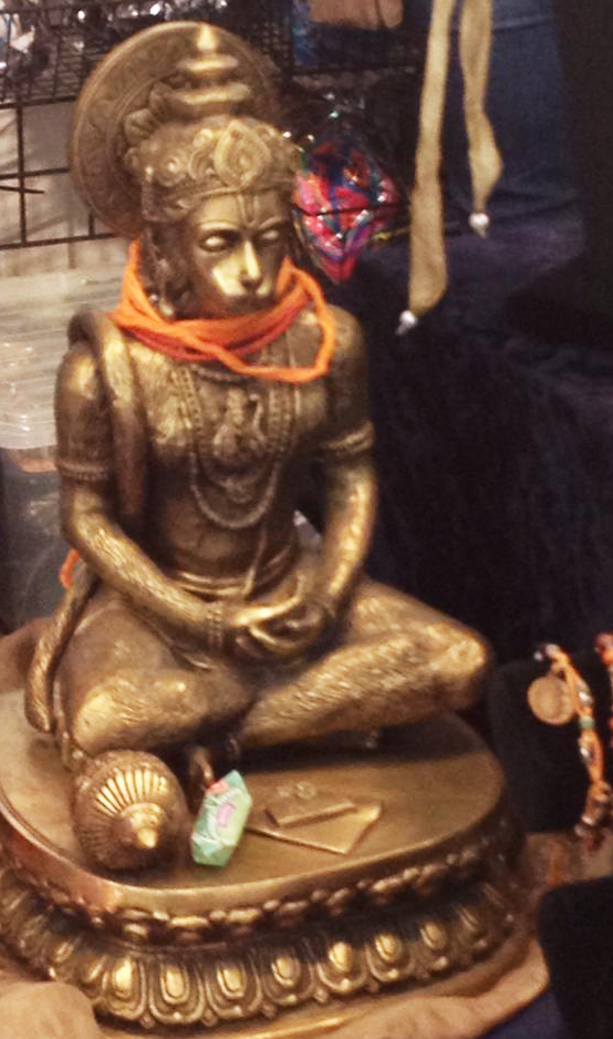 Hanuman, the monkey god, symbolizes service and loyalty. (And, one of our favorite yoga poses is named after him).