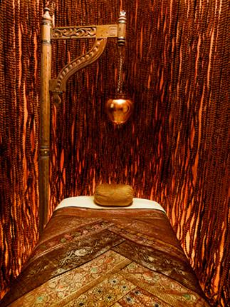 The Rudraksha Room at Pratima Day Spa in NYC