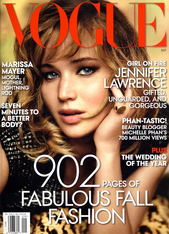 Vogue Septe 2013 cover