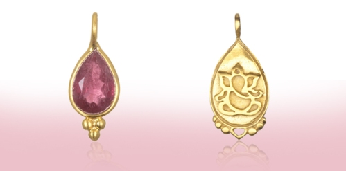 Choose Pink Tourmaline and the Ganesha to evoke confidence and the ability to move through obstacles
