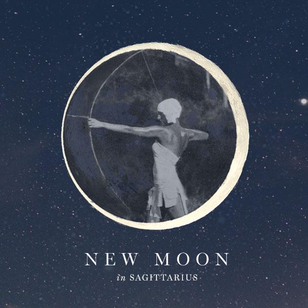 new moon in saggitarious